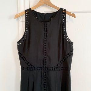 Ann Taylor Black Midi Dress - Size 10